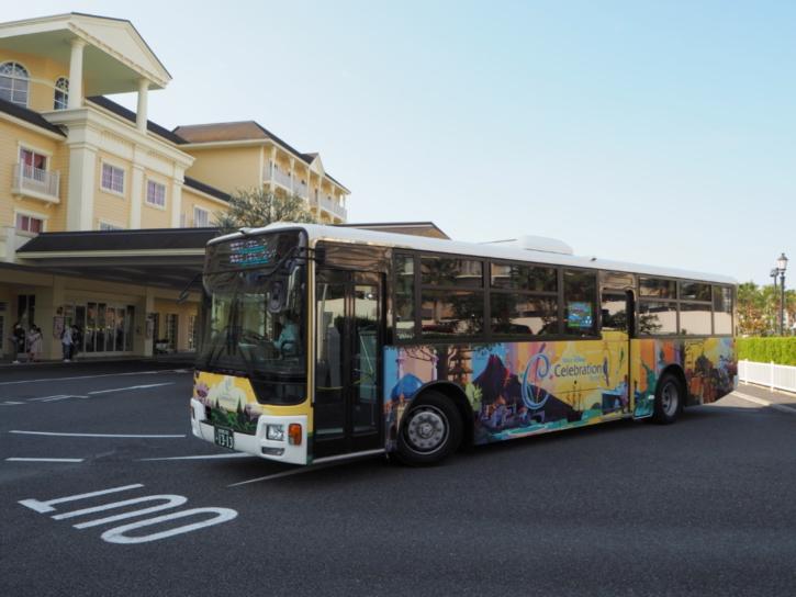 セレブレーションホテル バス