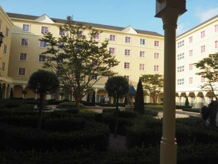 セレブレーションホテル:ウィッシュ 中庭