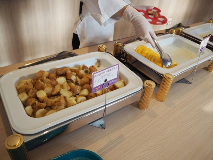 セレブレーションホテル 朝食 ポテト&オムレツ