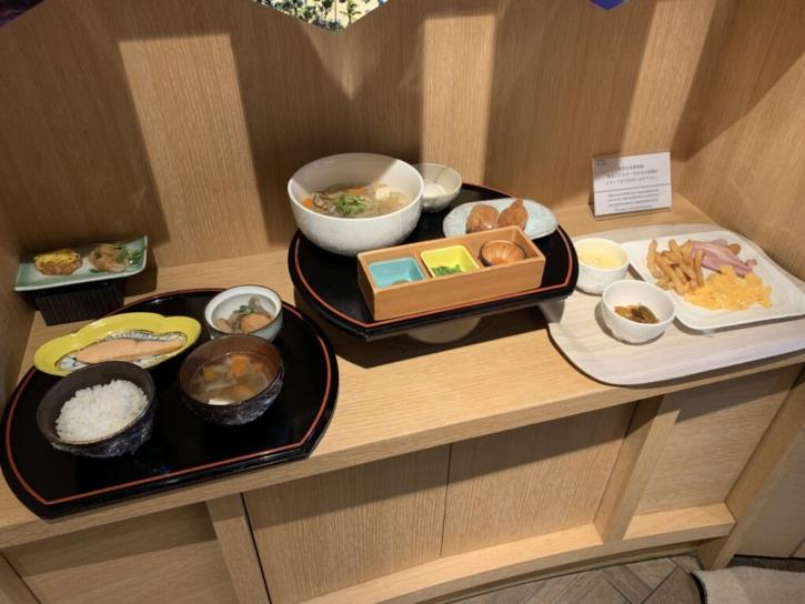 シェラトングランデ東京ベイ 朝食セットプレート