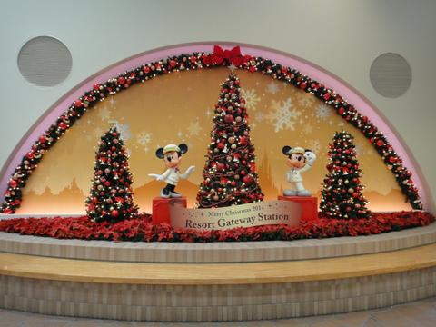 クリスマスデコレーション_リゾートゲートウェイステーション05