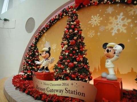 クリスマスデコレーション_リゾートゲートウェイステーション01