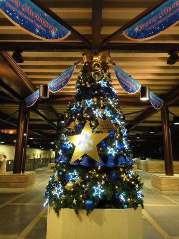 クリスマスデコレーション_リゾートライン_東京ディズニーシーステーション02