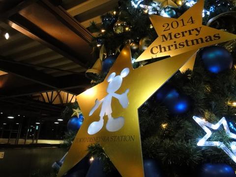 クリスマスデコレーション_リゾートライン_東京ディズニーシーステーション01