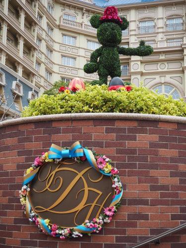 東京ディズニーランドホテル_イースターデコレーション_ミッキー