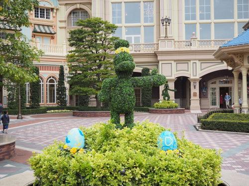東京ディズニーランドホテル_イースターデコレーション_ドナルド