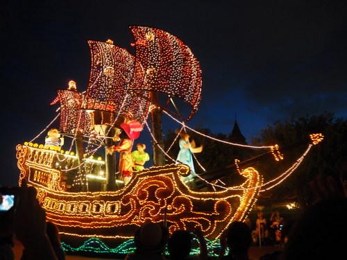 エレクトリカルパレード・ドリームライツ_ピーターパンの海賊船