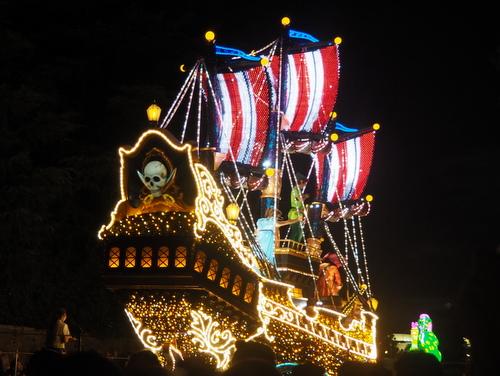 エレクトリカルパレード・ドリームライツ_ピーターパンの海賊船02