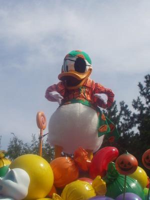Disney's Halloween Parade 2003_ドナルド